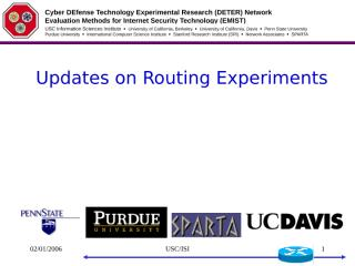 wu.routing.report.ppt