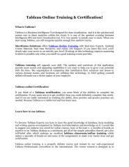 Tableau online training.pdf