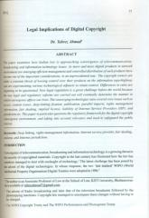 LEGAL IMPLICATIONS OF DIGITAL COPYRIGHT.pdf