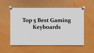 Top 5 Best Gaming Keyboards.pdf